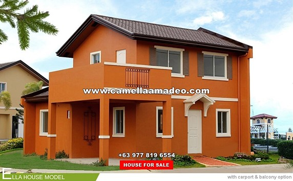 Camella Amadeo House and Lot for Sale in Amadeo Philippines