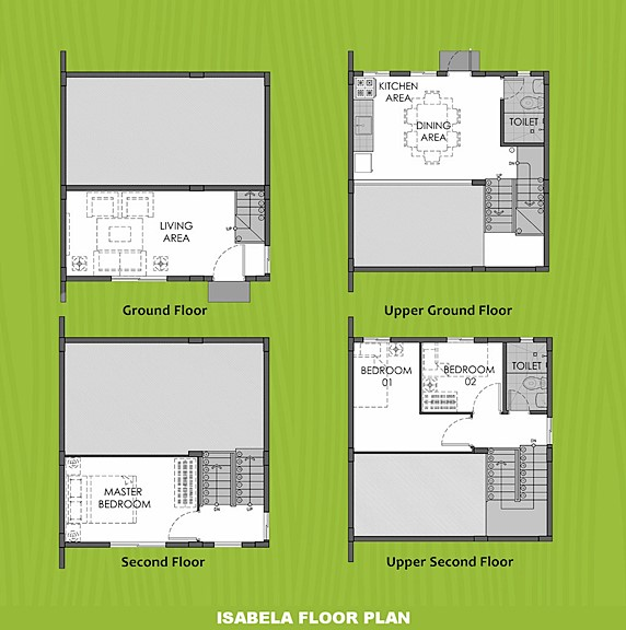 Isabela Floor Plan House and Lot in Amadeo