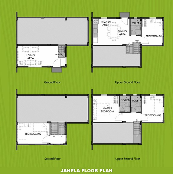 Janela Floor Plan House and Lot in Amadeo